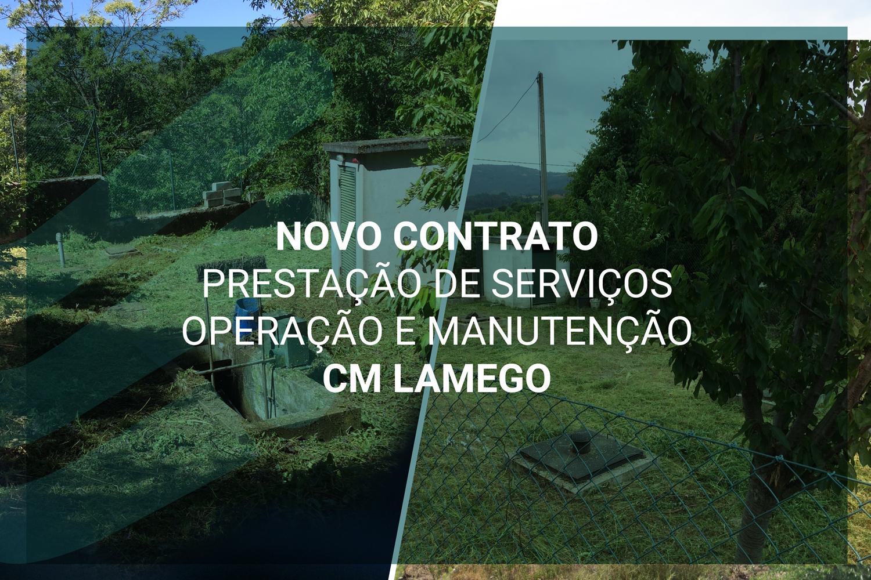 Arranque de novo contrato Prestação de Serviços Operação e Manutenção CM Lamego