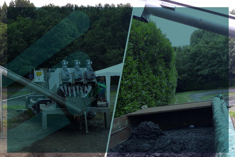 Remoção de Lamas Lagoa da ETAR de Cabreiros – AGERE